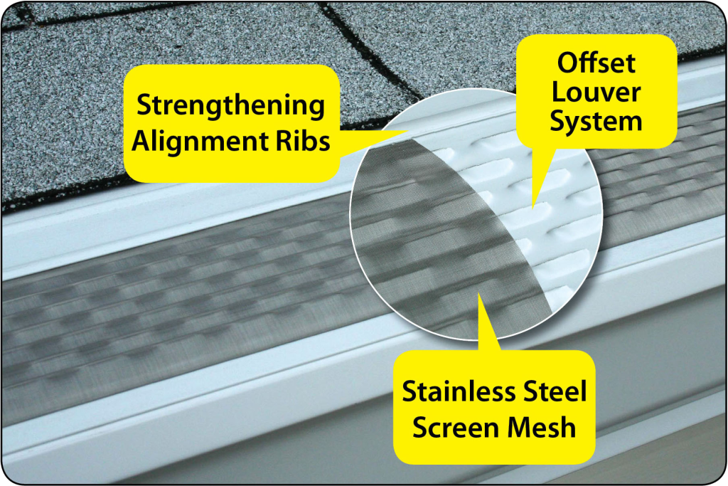 micro-screen mesh gutter guard